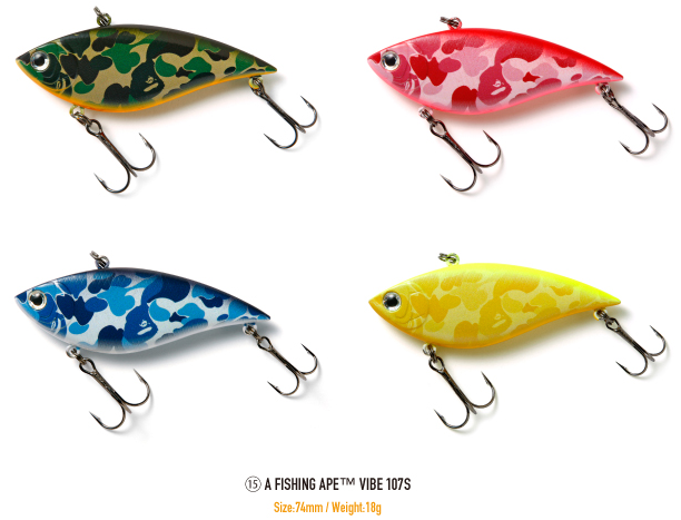 Bape fishing lures for Pictures of fishing lures