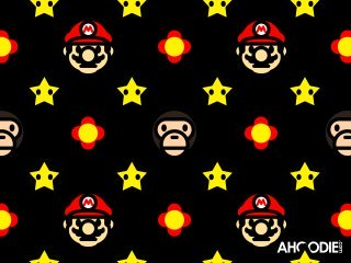 bape_mario_to_milo_new_star_flowers_all_over_wallpaper_awesome_ahoodie4