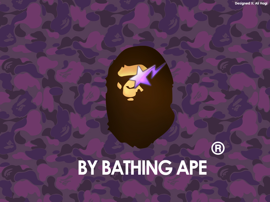 pics photos new bape camo logo bathing ape wallpaper