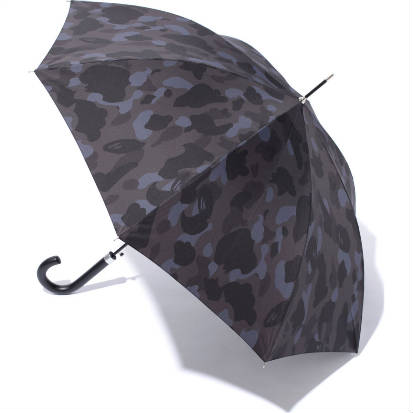 A Bathing Ape Black Camo Umbrella