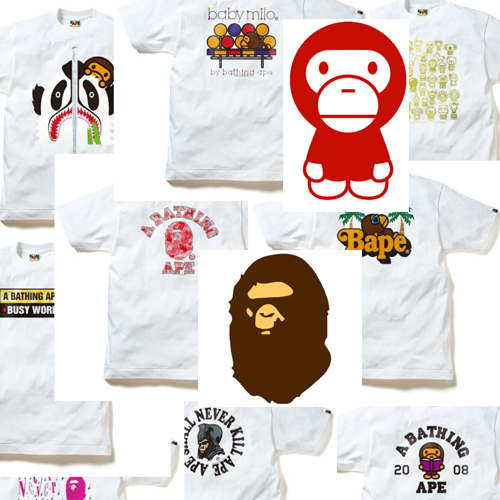 A Bathing Ape Clothing A Bathing Ape T-Shirts