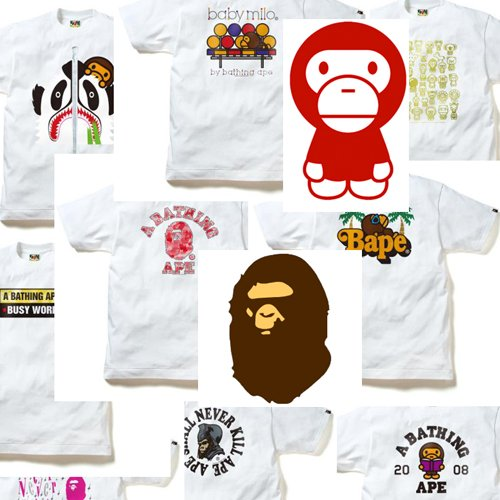 A Bathing Ape T-Shirts