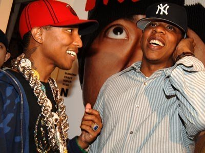 JAY-Z BAPE PHARELL BILLIONAIRE BOYS CLUB