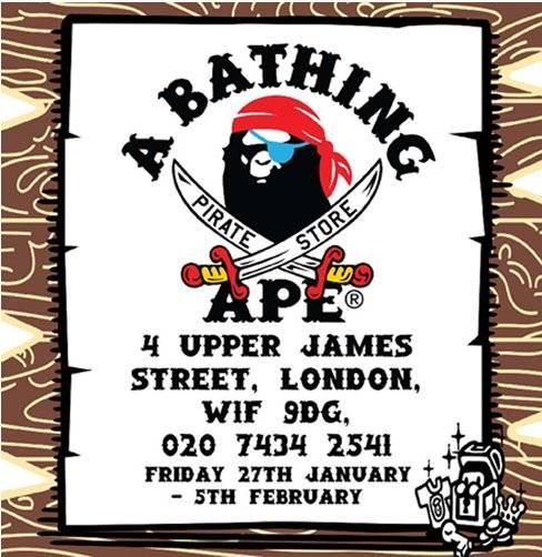 87ddc3ce BAPEINFO.com | BAPE Pirate Store UK 2012