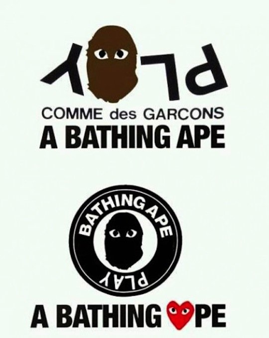 18b3d3dd9 BAPEINFO.com | A Bathing Ape x Comme Des Garcons – Play Collection