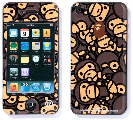 A Bathing Ape Baby Milo iPhone skin
