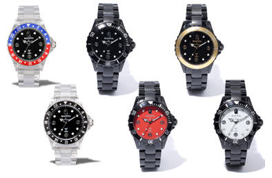 BAPEX Clear Watches